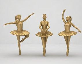 balerina pendant 3D print model