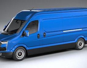 Generic Van Heavy 2020 3D