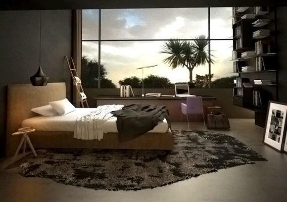 2D Floor Plan Rendering with Custom Texture Furniture in