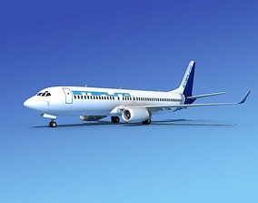 3D model Boeing 737-800 Sterling Air