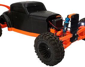 3D printable model Hot Rod - RC car