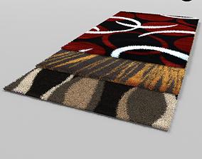 3D asset low-poly carpet