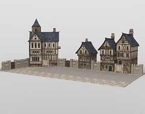 3D asset Medieval Street for iClone
