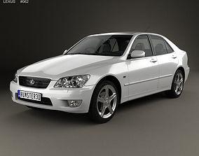 Lexus IS XE10 2001 3D model