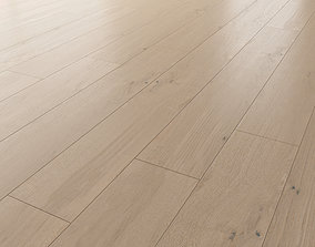 Wood floor Oak Tundra Brushed 3D