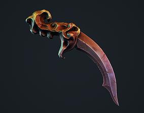 Ancient Cultist Dagger 3D asset realtime