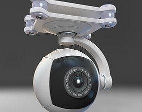 Camera for quadrocopter 3D model