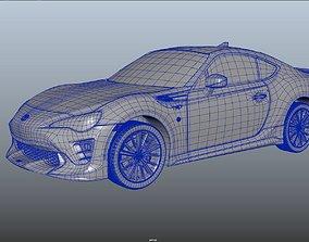 Toyota TRD 2017 3D model
