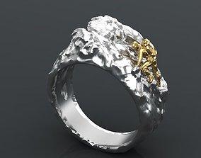 alpinist ring 3D print model