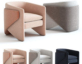 3D West Elm Thea Chair