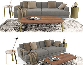 Casa International Cordovado sofa 3D model