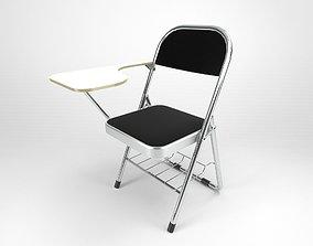 3D model Kursi Kuliah - College Foldable Chair
