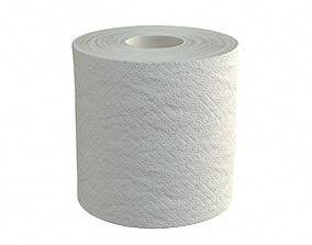 Toilet paper single 3D