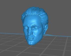 Robert pattinson head 3D print model