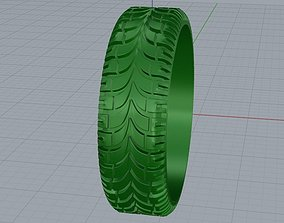 ring tyre 3D printable model