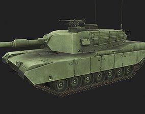 M1 Abrams 3D model game-ready
