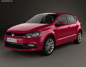 Volkswagen Polo 5-door 2014 3D