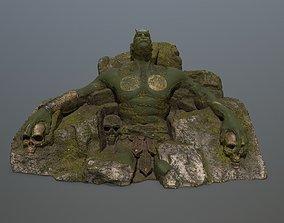 3D model StoneWorrior