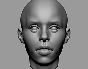 3D print model Base Female Head v3