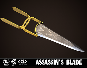 Assassin Blade 01 3D model