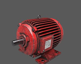 3D asset Electric Motor