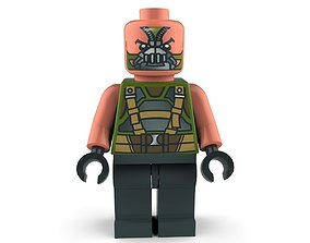 Movie Characters Brick Minifigures - DC Comics 3D