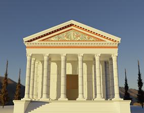 Ancient Temple greek 3D model