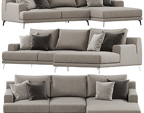 3D Ditre Italia Foster sofa