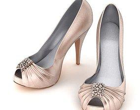 Women Shoes High Heels 3D