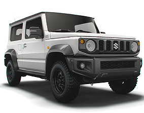 3D Suzuki Jimny JL Long Wheelbase 2022