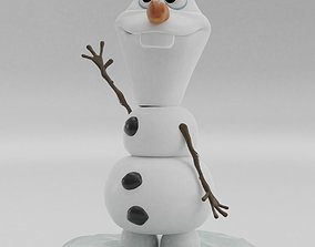 3D printable model Olaf from FROZEN Snowman