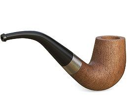 Smoking pipe 3D asset