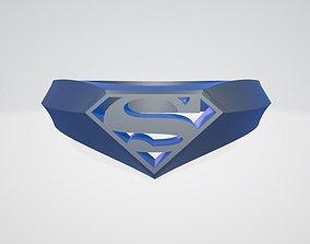 Superman Signet Ring 3D print model
