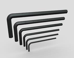 3D asset Allen Keys