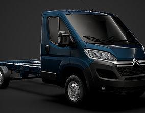 Citroen Jumper Chassis Truck Single Cab 3800WB 2020 3D