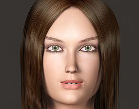 3d model katy rigged