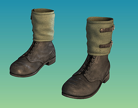 Boots military 3D model