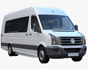 Passenger minibus VW Crafter 50 3D