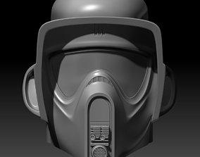 Star Wars Biker Scout Helmet 3D printable model