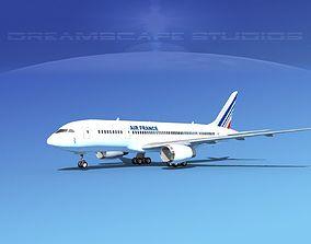 3D Boeing 787-8 Air France