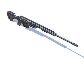 Sniper Rifle AX50 3D asset