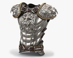 3D Medieval Lion Body Armor