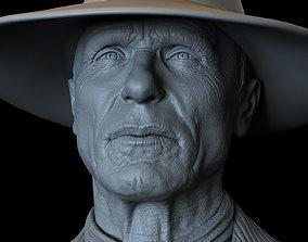 3D printable model Ed Harris Man In Black from Westworld 1