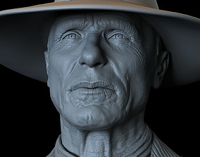 3D printable model Ed Harris Man In Black from Westworld 1