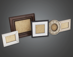 Household Picture Frames - GEN - PBR Game Ready 3D asset