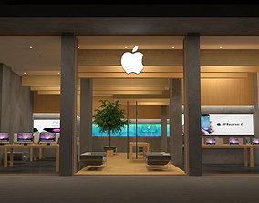 Apple Store 3D model