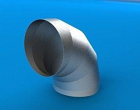 3D model Sheet Metal Elbow