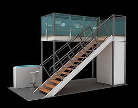 Maxima structure 3x6 double deck 3D model