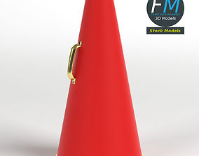 3D model Acoustic megaphone 1