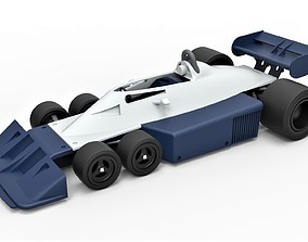 Diecast model Tyrrell P34B Formula 1 Scale 1 to 24